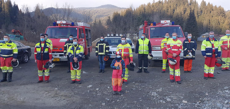 Un nou punct de lucru al pompierilor militari suceveni, la Crucea