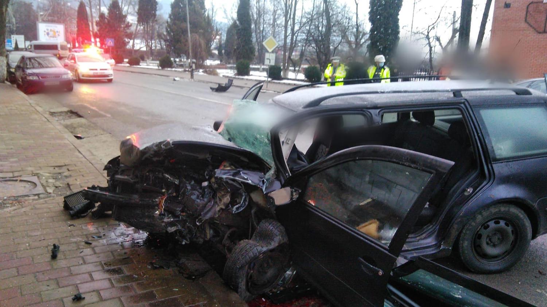 Accident rutier în municipiul Vatra Dornei