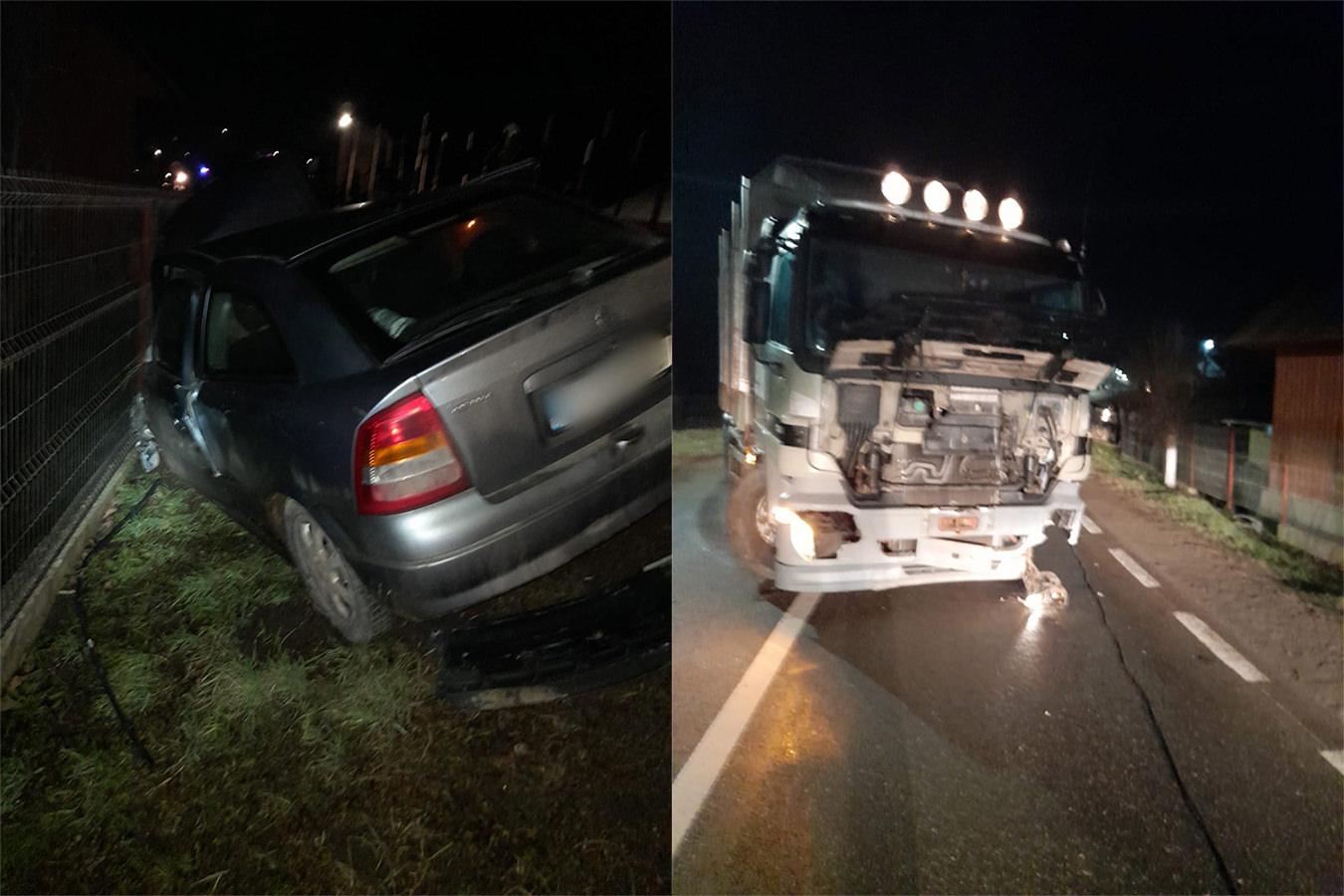 Accident rutier în orașul Solca