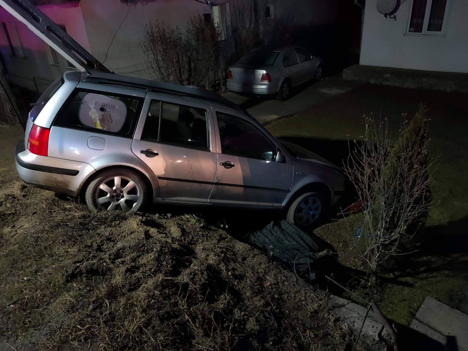 Accident rutier în satul Prisaca Dornei