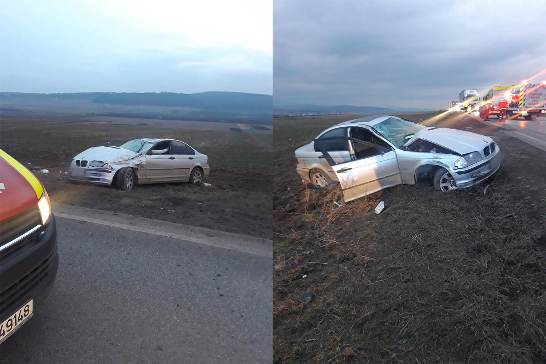 Accident rutier între localitățile Pătrăuți și Dărmănești