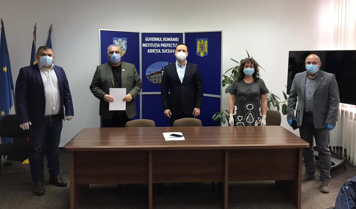 CNSLR-FRĂȚIA, filiala Suceava, a solicitat prefectului întrunirea Comisiei Județene de Dialog Social