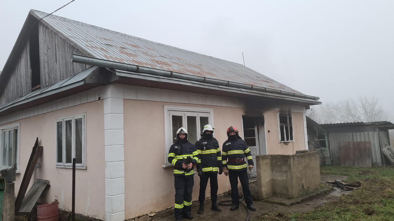 Incendiu în comuna Udești