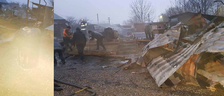 Incendiu în satul Râșca