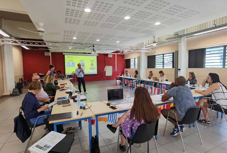 Institutul Bucovina a participat la prima mobilitate Erasmus+ organizată fizic în luna Ianuarie, în Reunion (Franța)