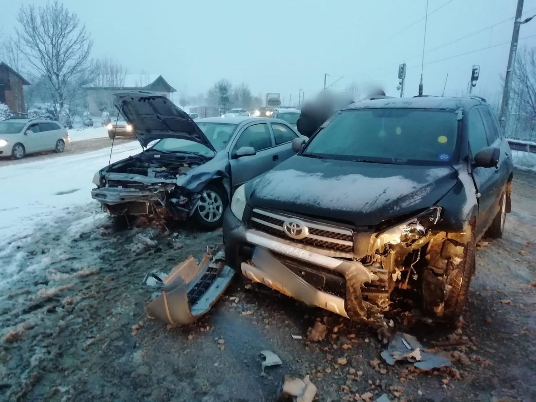 Accident rutier în localitatea Bucșoaia
