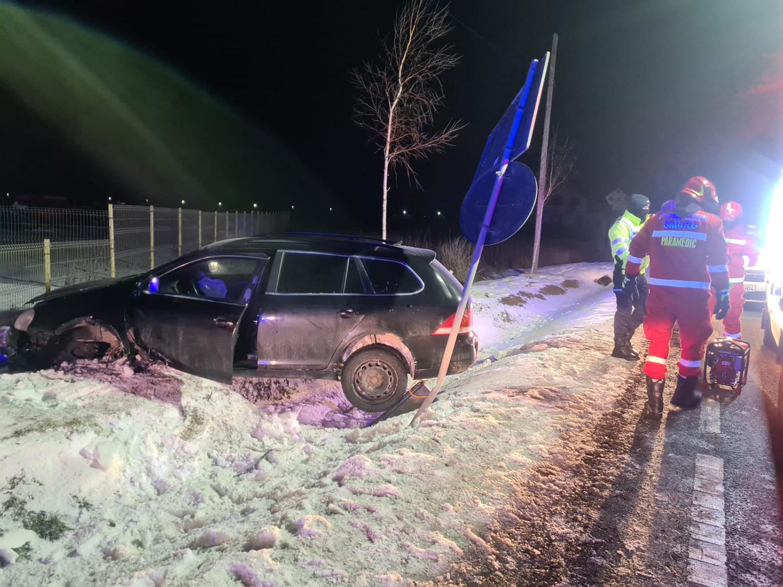 Accident rutier în satul Dumbrăveni