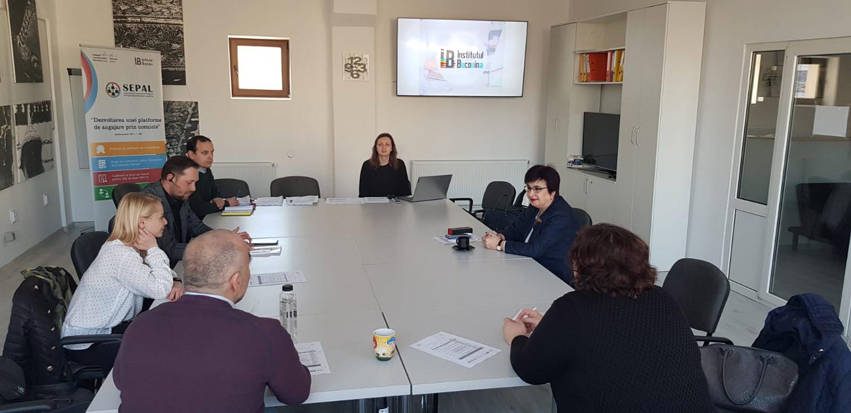 Asociația Institutul Bucovina și partenerii locali dezbat necesitatea schimbărilor în domeniul uceniciei