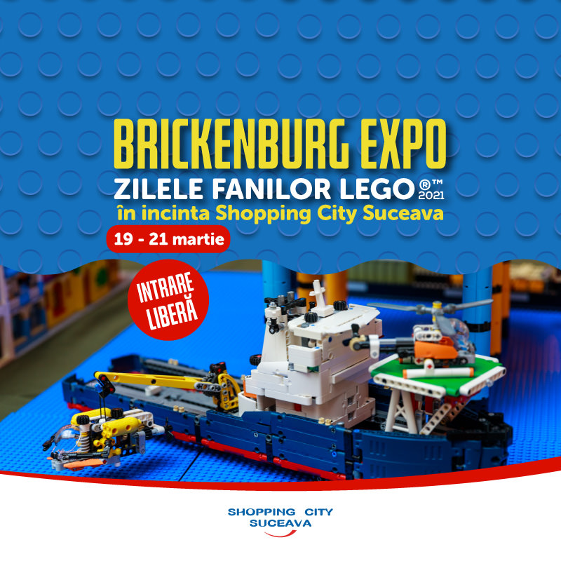 Brickenburg Expo – Zilele Fanilor LEGO® (2021)