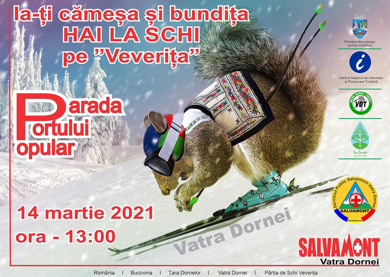Ia-ți cămeșa și bundița / Hai la schi pe Veverița! (2021)