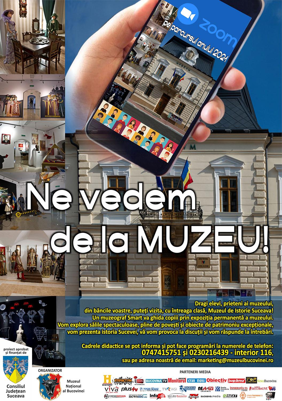 Ne vedem la muzeu!