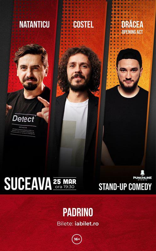 Stand-up comedy cu Costel, Natanticu și Drăcea