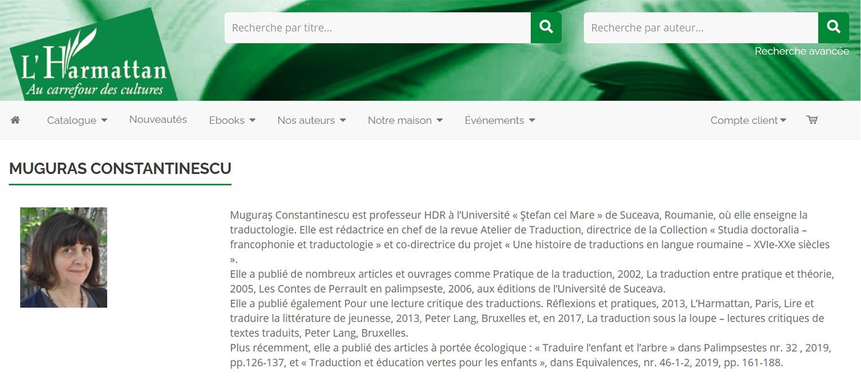 Cercetarea traductologică din USV, ecouri în Suedia, Canada și Franța