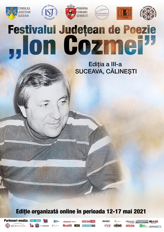 Festivalul Județean de Poezie Ion Cozmei (2021)
