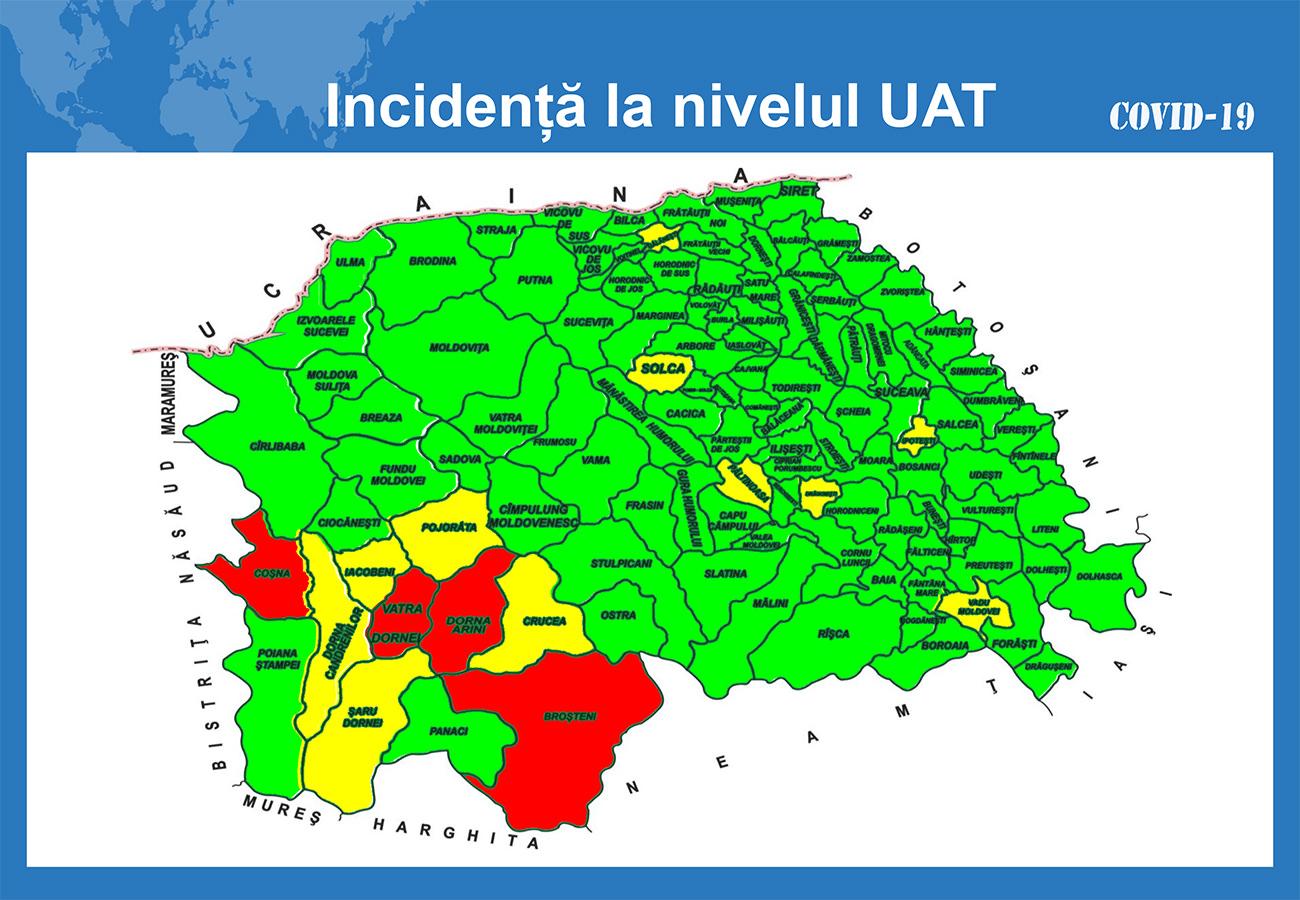 În județul Suceava sunt 662 cazuri de infecție Covid-19 în evoluție