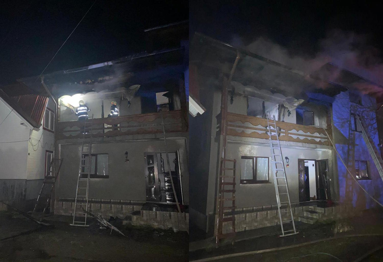 Incendiu în localitatea Frasin