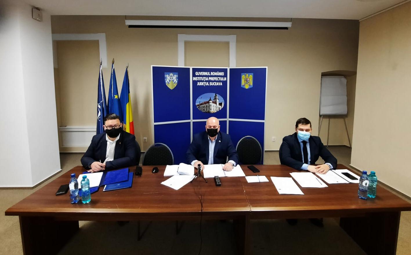 O nouă ședință a Colegiului Prefectural de la nivelul Județului Suceava