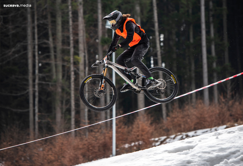 Rarău Winter 4 Cross - MTB (fotoreportaj)