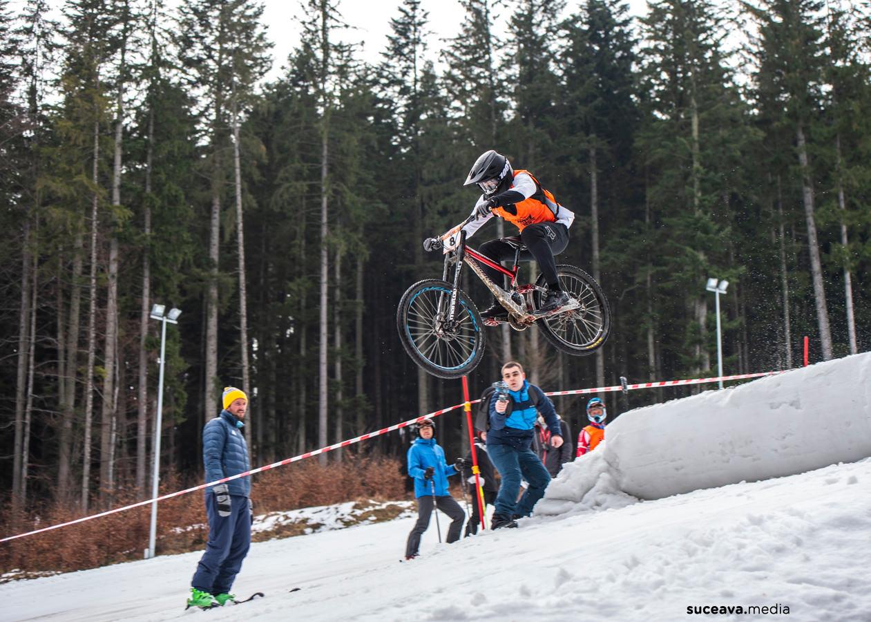 Rarău Winter 4 Cross – MTB (fotoreportaj)
