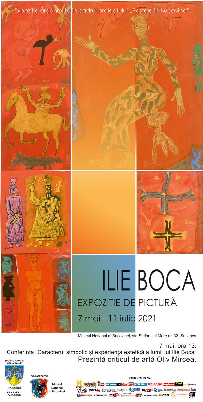 Ilie Boca - expoziție de pictură