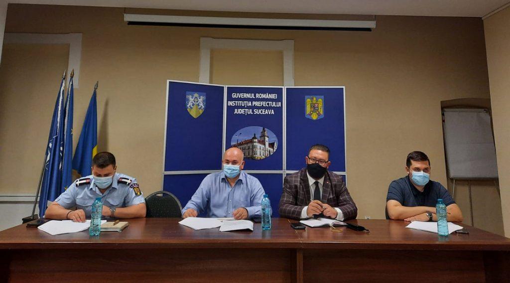 Comitetul Județean pentru Situații de Urgență Suceava a aprobat planul de măsuri și acțiuni specifice sezonului cald