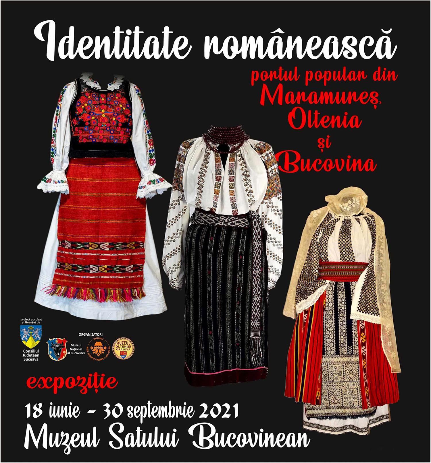 Identitate românească – portul popular din Maramureș, Oltenia și Bucovina