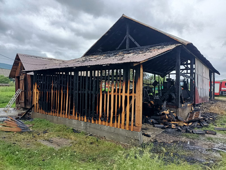 Incendiu în comuna Mănăstirea Humorului