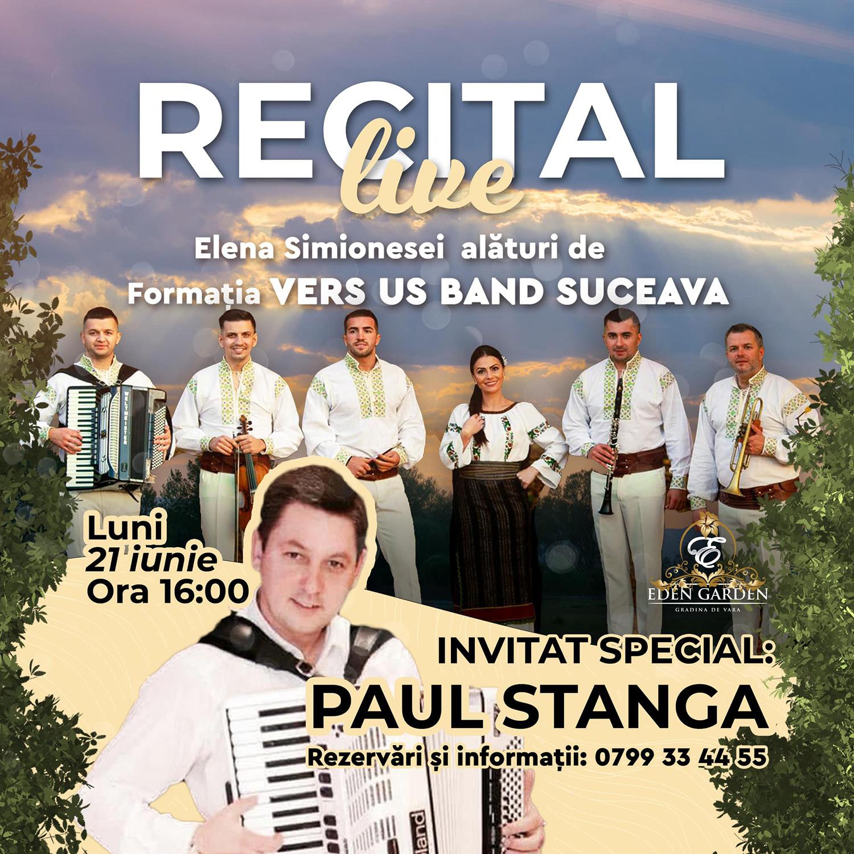 Paul Stângă, Elena Simionesei și Ver Us Band
