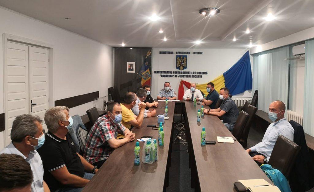 Prefectul a convocat în ședință extraordinară Comitetul Județean pentru Situații de Urgență al județului Suceava