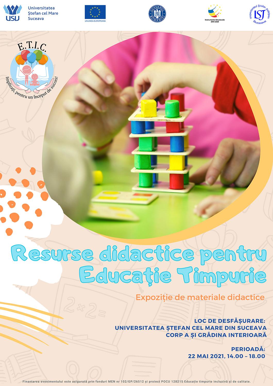 Resurse didactice pentru Educație Timpurie