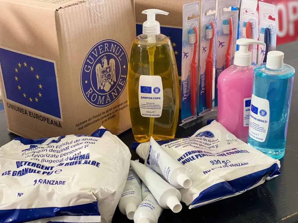 Instituția Prefectului - Județul Suceava va recepționat 60.922 pachete de igienă pentru persoanele defavorizate
